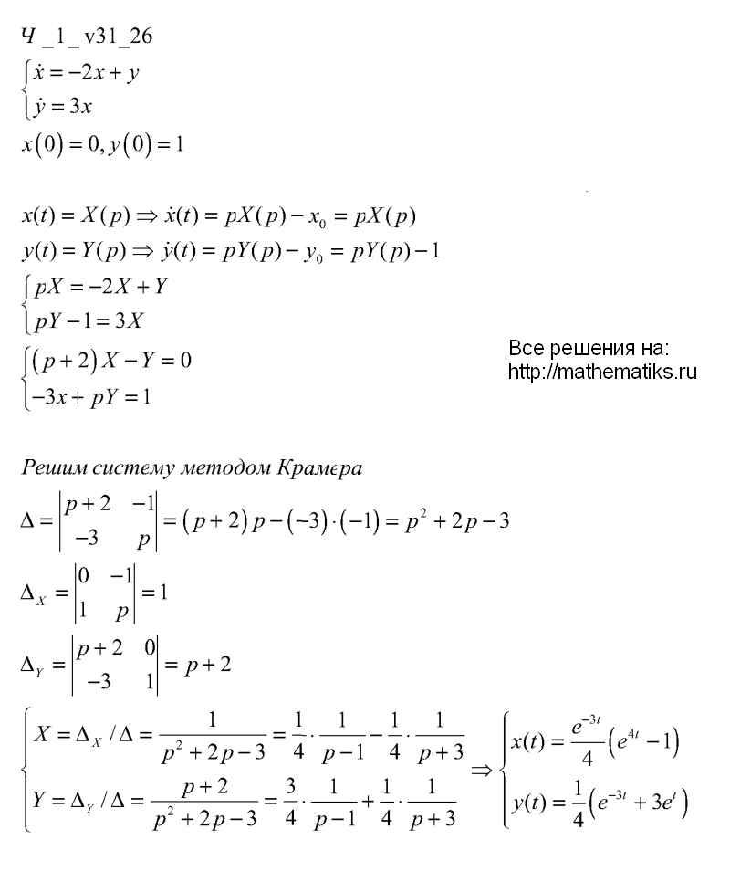 чудесенко решебник математическая физика онлайн
